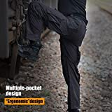 FREE SOLDIER Men's Outdoor Tactical Pants Ripstop