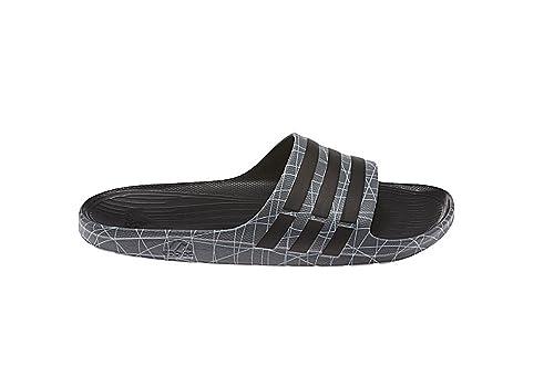 a42318dc3f3e Adidas New Men s Duramo Slide Xtra Sandals Black Tech Grey 5  Amazon ...
