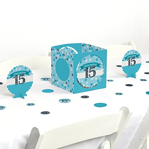 Quinceanera Teal Sweet Birthday Decorating