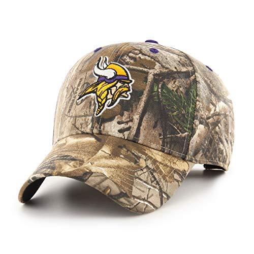 NFL Minnesota Vikings Men's OTS All-Star Adjustable Hat, Hickory Realtree, One Size ()