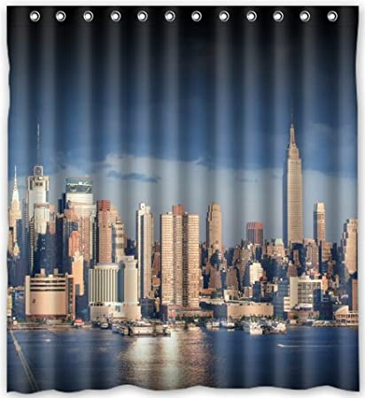 Image Unavailable Not Available For Color Funny Design New York City Shower Curtain