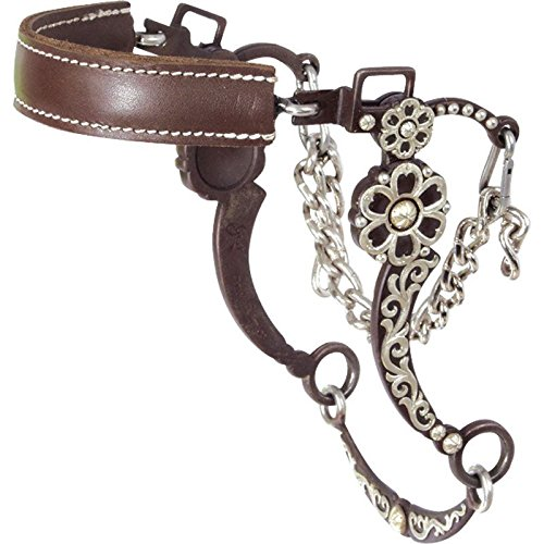 Curb Chain Cover (Classic Equine AT Silver Clover Hackamore)