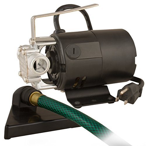 Star HPP360 Portable Transfer Water Pump with Suction Hose and Strainer - 115V Electric Utility Pump