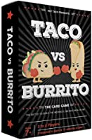 Taco vs Burrito - The Wildly Popular, Surprisingly Strategic Card Game for Kids And Adults Alike - Quick-fire Rounds For...