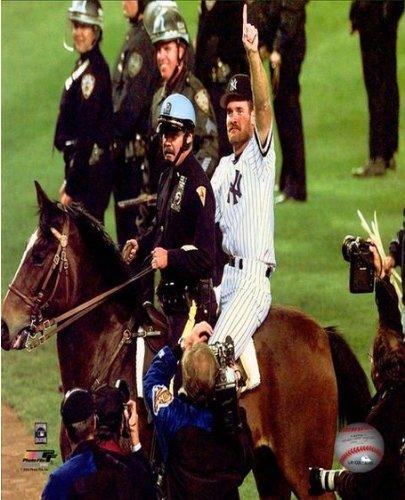 Wade Boggs New York Yankees 1996 World Series Photo 8x10