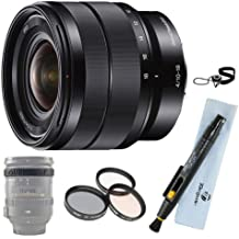Sony SEL1018 10-18mm Wide Angle Zoom Lens Bundle