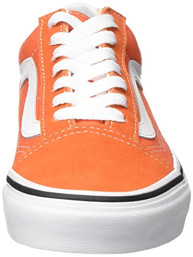 de Vans Taille Unique Chaussures 2w1 Adulte Mixte True White Running Skool Flame Old Orange grt4wqxHg