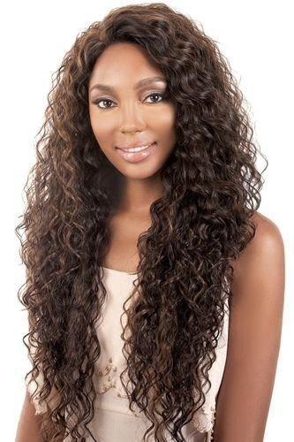 (Motown Tress Synthetic Deep Part Lace Wig - LDP Shore-RT4/613)
