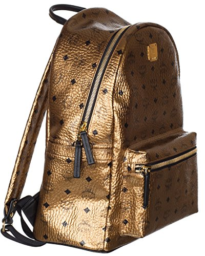 MCM Unisex Gold Weekender Visetos Backpack Bag by MCM (Image #3)