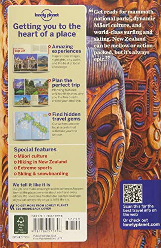 51otaSndP6L - Lonely Planet New Zealand (Travel Guide)