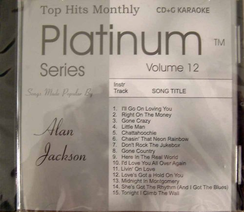- Top Hits Monthly Platinum - Alan Jackson Karaoke