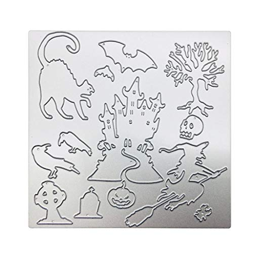 Lovhop Halloween Metal Cutting Dies Stencil Scrapbooking Album Stamp Paper Card Embossing Craft Decor
