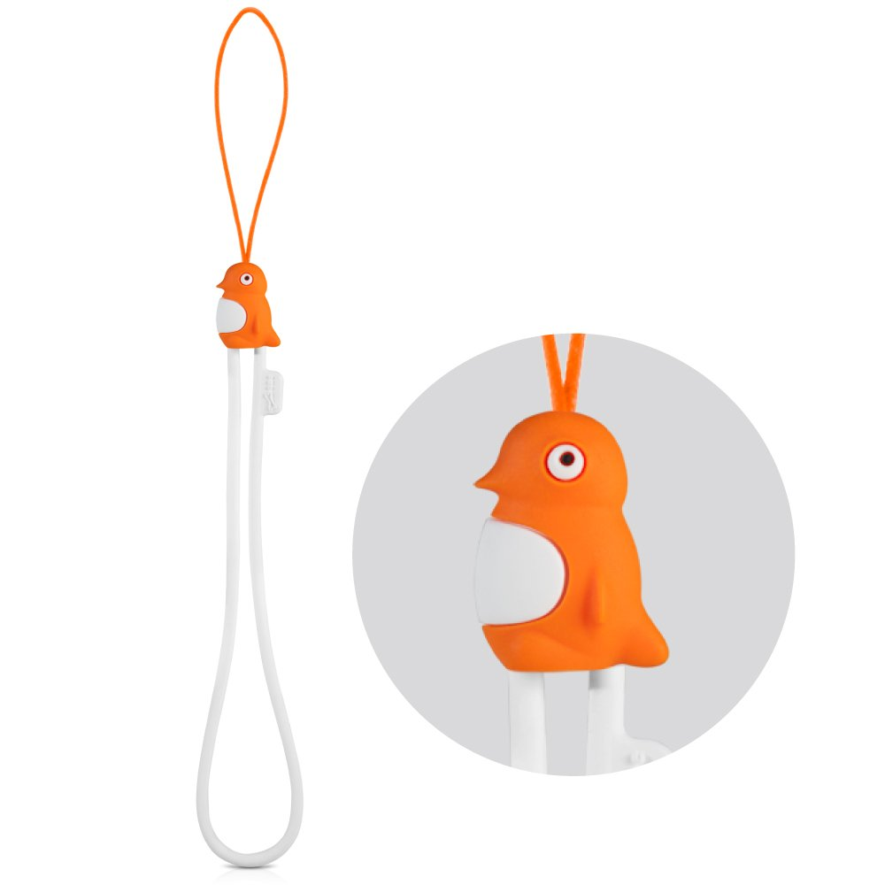 Reindeer Multi-Purpose Hand Wrist Strap with Cute Animal Cartoon Phone Charm Elastic Silicone Lanyard Bracelet for Cell Phone iPhone Case ID Holder Name Badge Keys Keychain USB Flash Drive