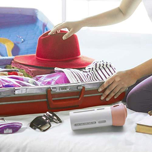 AIRERA Bottiglie da viaggio 4 in 1 a prova di perdite Set di bottigliette da viaggio per cosmetici articoli da toeletta articoli da toeletta(Rosa)