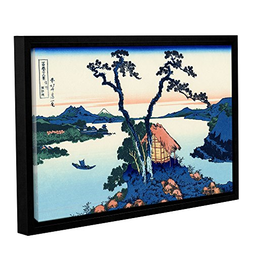ArtWall Katsushika Hokusai's Lake Suwa in The Shinano Province Gallery Wrapped Floater-Framed Canvas Artwork, 24 x 36