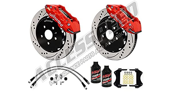 Front Brake Calipers For 2005 2006 2007 2008 2009 2010 2011-2014 Mustang GT