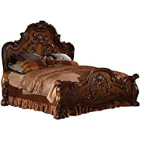 ACME 12140Q Dresden Bed, Queen, Cherry Oak Finish