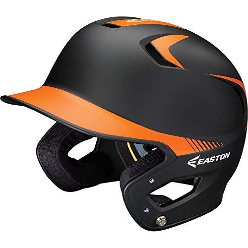 Orange Softball Batting Helmet - 2