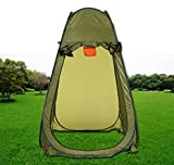 Gracelove New Outdoor Portable Pop Up Tent Hiking Toilet Shower Beach Camping Tent (Green)
