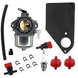 AISEN Carburetor for Briggs & Stratton 690115 Engine Tractor Carb 690111 10HP Engine Only Generac SVP5000 Generator Generac PowerBoss & Powermate 5500 Watts