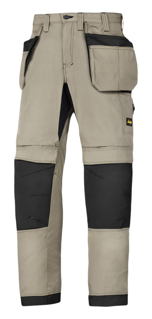 Snickers 62070404044 Work Trousers with Holster Pockets LiteWork 37.5' Size 44 in Black