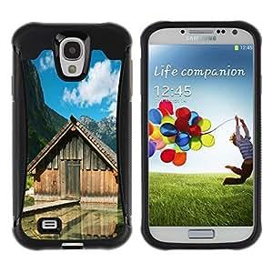 Suave TPU GEL Carcasa Funda Silicona Blando Estuche Caso de protección (para) Samsung Galaxy S4 IV I9500 / CECELL Phone case / / Lake cabins /
