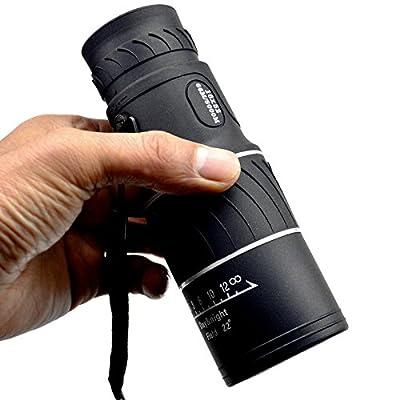 WH Double Focus 16X52 Télescope Monoculaire Vert Film Haute Puissance à Haute Définition Lumière Vision Nocturne Jumelles