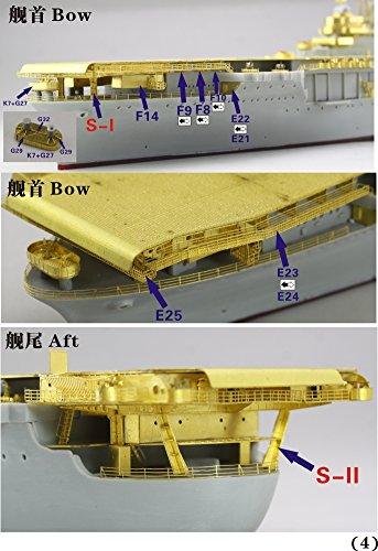 1/700 米海軍空母 CV-8 ホーネット 1942 アップグレードセット