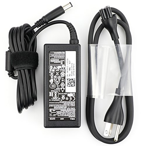 Dell Laptop AC Adapter Charger 65 Watt 19.5v 3.34a  LA65NS2-01 Compatible with 09RN2C 6TM1C HA65NS5-00 A065R039L 7.4mm Tip