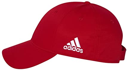 adidas - Core Performance Max Structured Cap - A600 - One Size - Red ... 813364bfd238