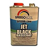 Jet Black Automotive Basecoat , One Gallon SMR-9700