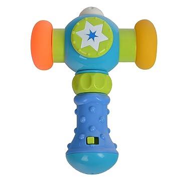 Amazon.com: Bebé martillo juguete, trietree suave martillo ...