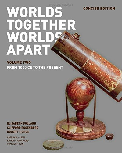393918483 - Worlds Together, Worlds Apart: A History of the World: From the Beginnings of Humankind to the Present (Concise Edition)  (Vol. 2)