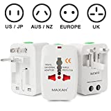 Maxah MX-UC1 Surge Protector All in One Universal Travel Wall...