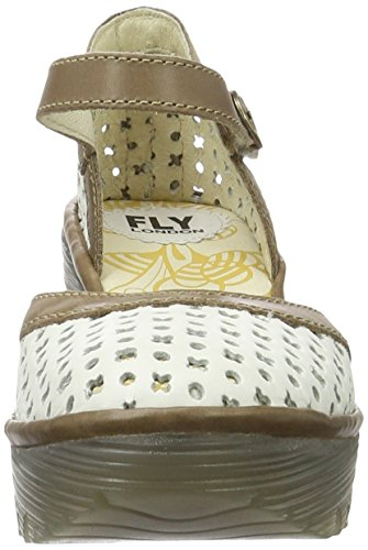 Grey Scarpe Zeppa con Yadu732fly Offwhite Fly Bianco da 006 London Donna gzqZ1w1n