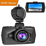 backup camera in car - Crosstour Mini In Car Dash Cam HDR Car Camera 1080P FHD Camera Video Recorder for Cars 170°Wide Angle HDR 2.7