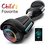 Hoverboard 6.5 Inch Swift with Flashed Wheel Smart Self Balanceing Scooter with Music Speaker App-Enabled Hoverboard UL2272...