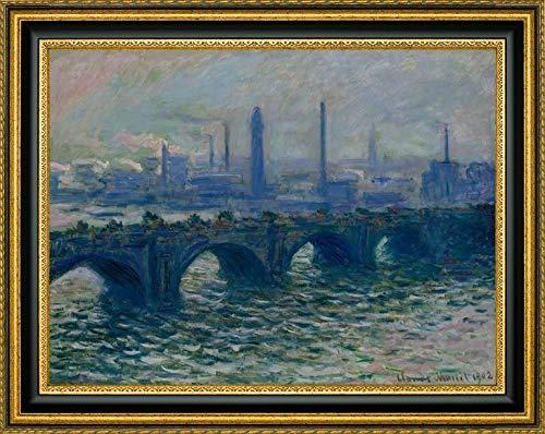 - Waterloo Bridge London by Claude Monet - 30.25