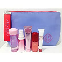 White Lucent Travel kit with Blue Pouch