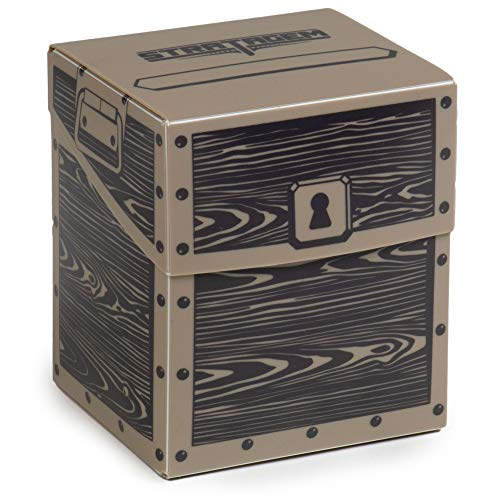 Commander's Cache Giant Deck Box | Holds 120+ Double Sleeved EDH Trading Cards | TCG Pro Plastic Deck Protector & Storage Accessory | Compatible with All Popular Card Games