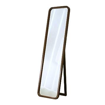 Miroirs en pied Miroir sur Pied,Cadre en Bois Haute Qualité ...