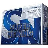 ブリヂストン(BRIDGESTONE) SUPER NEWING ホワイト 1ダース(12個入り) SEWX