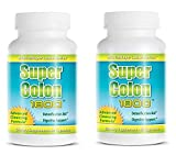 cleanse max ii - Super Colon 1800 Max Strength Weight Loss Detox Cleanse All Natural with Acai Fruit and Fennel Seeds 60 Capsules Per Bottle (2 Bottles)