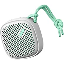NudeAudio Move S Universal Wireless Bluetooth Speaker - Grey/Mint