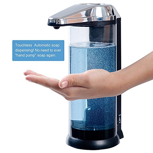 Buy brushed nickel soap dispenser automatic