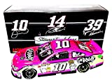 AUTOGRAPHED 2013 Danica Patrick #10 GoDaddy Racing Team PINK CAR (Stewart-Haas) Signed Lionel 1/24 NASCAR Rookie Diecast Car with COA (#0020 of only 1,488 produced!)