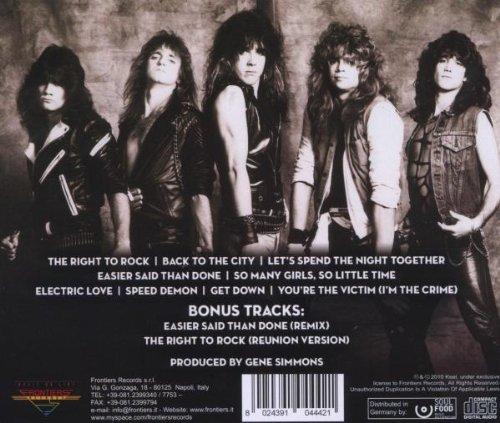The Right To Rock:25th Anniversary Editi