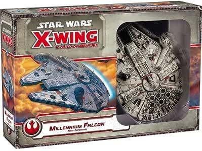Asmodee Italia-GTAV1029 Star Wars X-Wing El Juego de miniaturas expansión Millennium Falcon, Color, 9911: Amazon.es: Juguetes y juegos