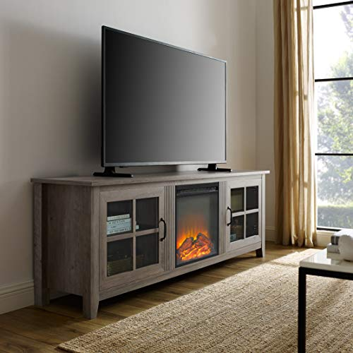 WE Furniture Fireplace TV Stand, 70
