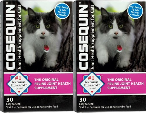Sprinkle Cosequin (Nutramax Cosequin Sprinkle Capsules for Cats 60ct (2x30ct))